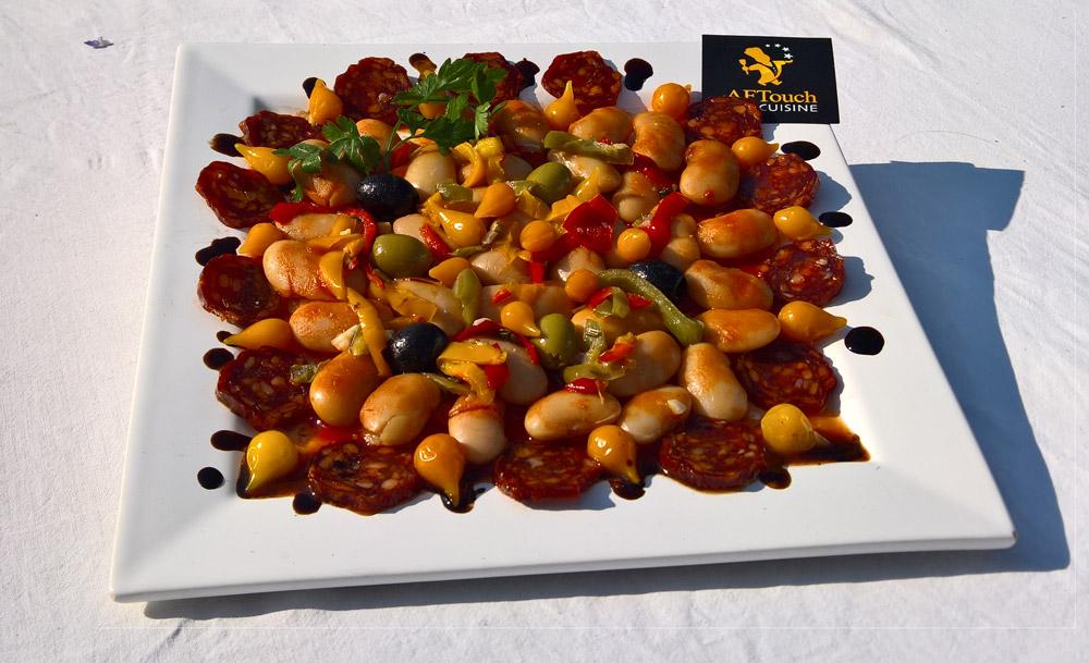 Assiete de haricot de Soissons